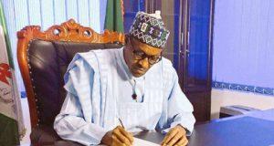 Buhari Official Seat%B%D